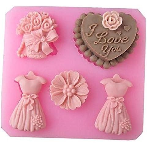 FPP matrimonio amore pieno abito di cottura della torta del