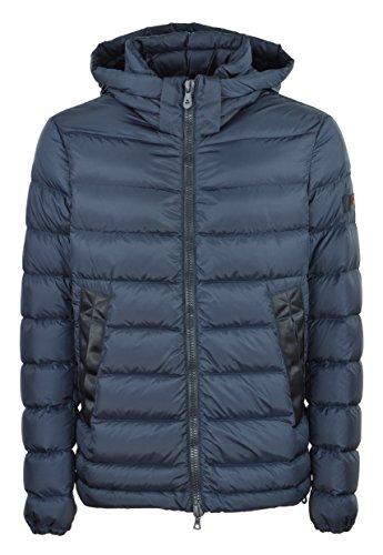 Peuterey - uomo FIDDLER CJ 01 215 giacca piumino blu con cappuccio - 27504 - S
