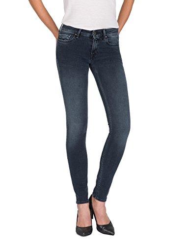 Replay Damen Skinny Jeans LUZ, Grau (Grey 9), W28/L32