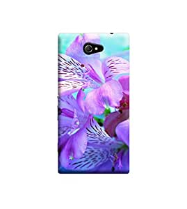 Ebby 3d printed back case cover for Sony Xperia M2(Premium Designer Case)