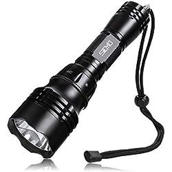 Siuyiu 3000Lms super-XML-lumineux L2 Underwater LED Lampe de poche Torch plongée Lampe super-étanche T6