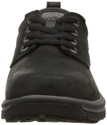 Skechers Segment Bertan, Chaussures basses homme Noir