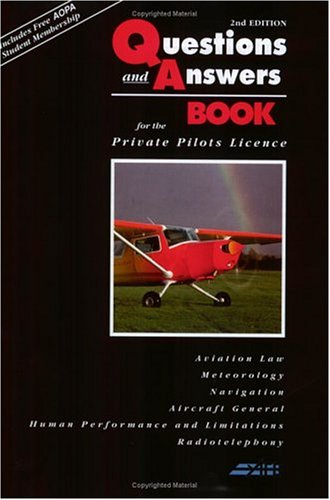 The Questions and Answers Book: For the Private Pilot's Licence por Jeremy M. Pratt