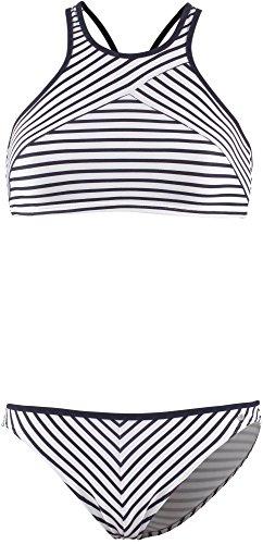 Marc O´Polo Body&Beach Damen Set Beach W-Bustier Bikini, Weiß (Off-White 102), 42 (Herstellergröße 042) (Gefütterter Bikini Top)