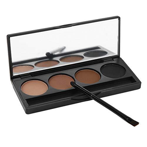 Nouveau 4 Couleurs Poudre À Sourcils Palette Sourcils Noir Beauté Yeux Outils Brosses À Sourcils Set Maquillage Kit Sourcils Poudre top qualité