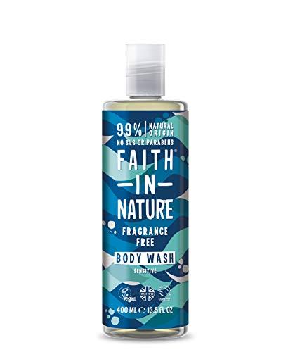 Faith in Nature Gel Douche/Bain Moussant sans Fragrance 2 - Lot de