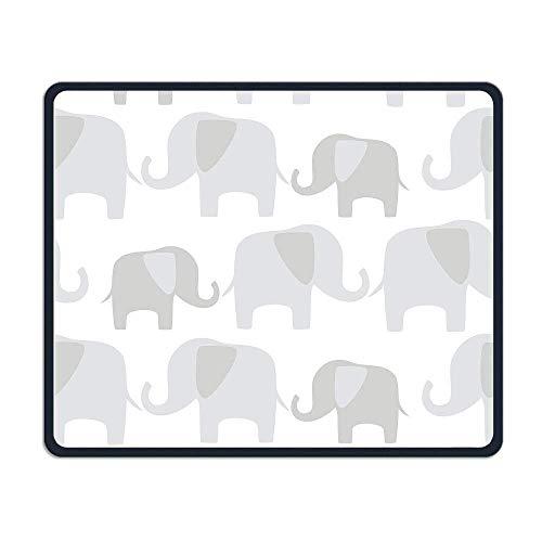 ATR Mouse Pad Elefantes Patrón Suave Niza Personalidad Diseño Móvil Juego Mouse...
