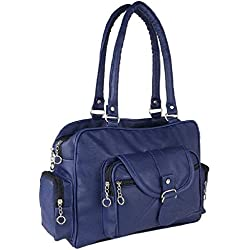 khalifa Women's Stylish Handbag (Sea Green) (navy blue)