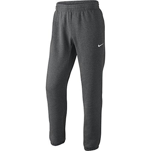 Nike Men's Club Manschette Sweatpant Dark Grey Heather/White 611459-071 (Größe M)