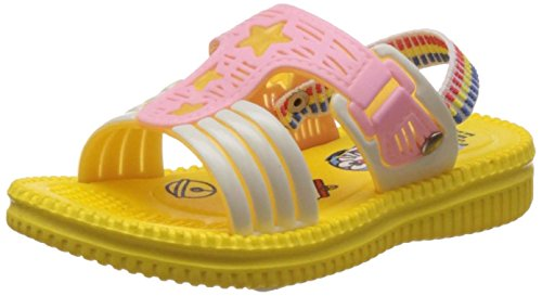 Doraemon Boy's Yellow sandals and Floaters - 7.5 UK/India (25 EU)  available at amazon for Rs.134