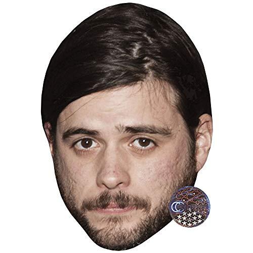 Celebrity Cutouts Winston Marshall (Beard) Maske aus Karton