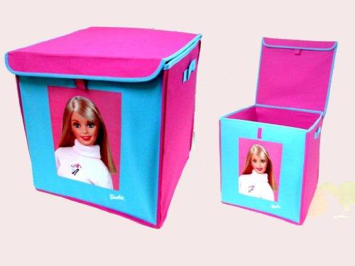 Imagen principal de Barbie - Caja organizadora barbie tela tejana 40c
