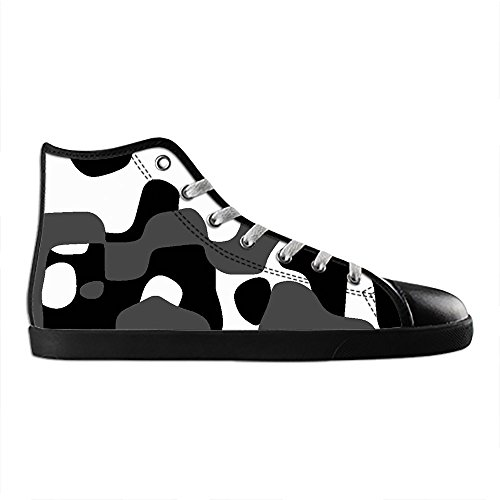 Dalliy tarnung Men's Canvas shoes Schuhe Lace-up High-top Sneakers Segeltuchschuhe Leinwand-Schuh-Turnschuhe C