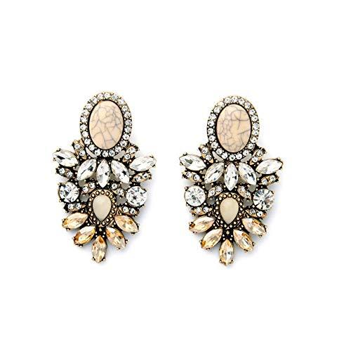 E-H Mode Einfache Ohrringe Hoop Nägel Legierung Retro-Mode Modeschmuck Online-Shop Maxi Lätzchen Aussage Anhänger Mode Einfache Ohrringe