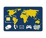 Prepaid WORLD SIM card - stay connected worldwide. Trio SIM (Standard /Mini, micro, nano)