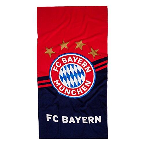 Strandtuch Logo, FC Bayern MÃœNCHEN + gratis Sticker
