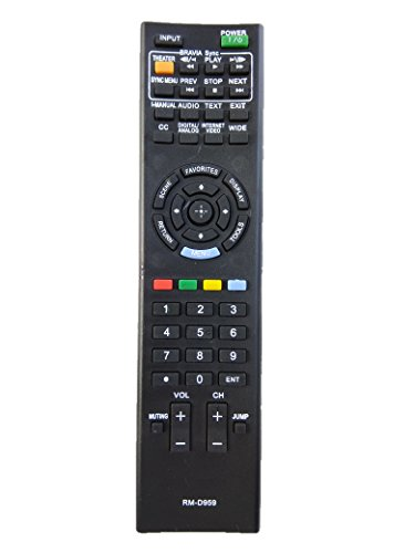 LipiWorld® RM-D959 Sony Bravia LCD/LED/Plasma Remote Universal Remote Control Compatible For Sony Bravia  available at amazon for Rs.389