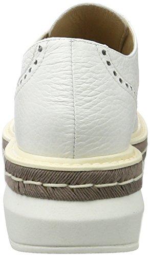 Peperosa - 3408, Scarpe stringate Donna Bianco (Bianco)