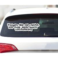 Spruch witzig DUB 2H171 Autoaufkleber Zu GEIL für diese WELT Auto Heck Sticker
