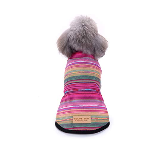 BINGMAX Hundepullover Hund Kleidung Winter Haustier Hundebekleidung Warm Jacke Mantel -
