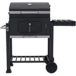 Tepro Toronto Click, modèle 2019 Barbecue Anthracite/INOX