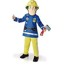 Rubie's - Disfraz infantil con diseño Fireman Sam, talla M (I-610901M)