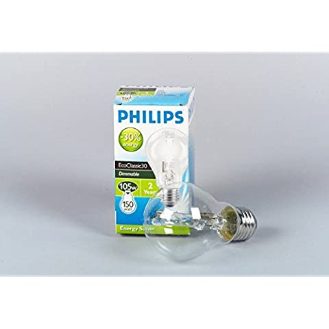 Philips ECOCLASSIC30 A60 E27 clear 2000h 140W