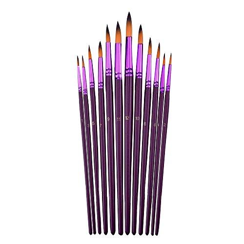 mudder-12-pezzi-pennelli-buona-di-artista-per-dipingere-per-acrilico-acquerello-pittura-a-olio-viola