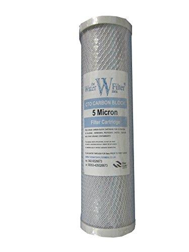 Bloque de carbón de 10 pulgadas , filtros de agua / osmosis inversa