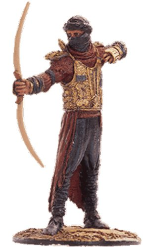 Lord of the Rings Señor de los Anillos Figurine Collection Nº 51 Haradrim Archer 1