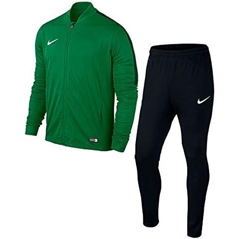 Nike Academy16 Knt Tracksuit 2 - Chaqueta para hombre, color verde / negro / blanco, talla M