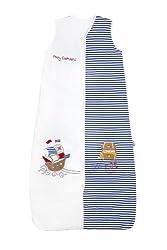 Schlummersack Ganzjahres Kinderschlafsack gefüttert in 2.5 Tog - Pirat - 130 cm/3-6 Jahre