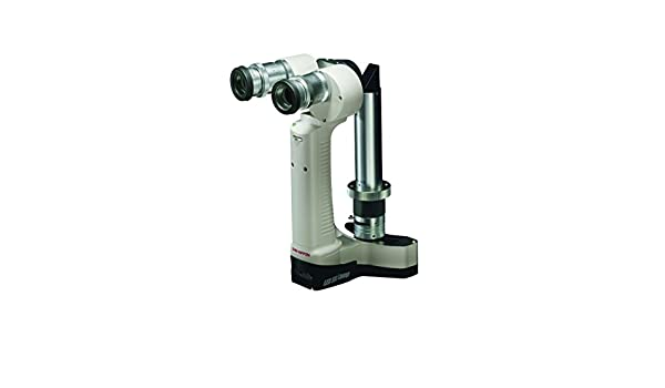 Ottica e oftalmica handheld led portatile microscopio lampada a