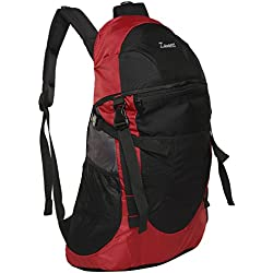 Zwart Black And Red 35 Ltrs Free Size Backpack / Rucksack