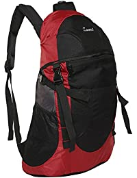 Zwart 32 Ltrs Red School Backpack (CLINROV-R)
