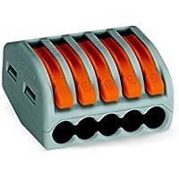 Wago 222–415lever-nuts Conductor de 5conectores de compacto 40Pk