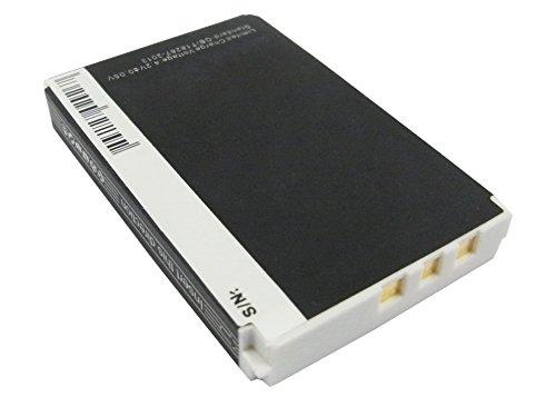 subtel® Batterie premium compatible avec Logitech Harmony 1000 1100 Remote, Harmony 915, Logitech Squeezebox Duet Controller, Logitech C-RL65 (1300mAh) 190582-0000,F12440056,K398,L-LU18 Batterie de rechange, Accu remplacement