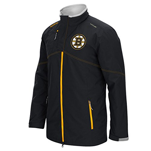 Boston Bruins Reebok 2015 Center Ice Full Zip Premium Midweight Jacket