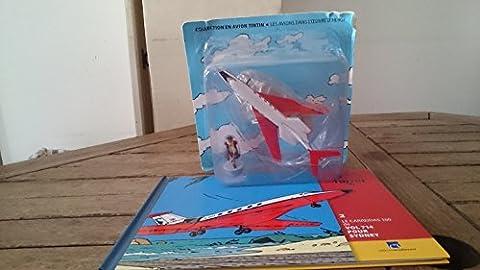Le carreidas 160 de vol 714 pour Sydney. Collection En avion Tintin