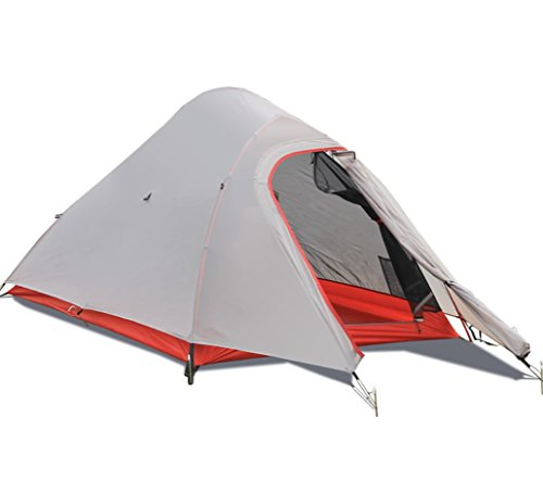 Zelt Outdoor Nylon Beschichtet Doppel Doppel Aluminium Rod Regen Storm Camping Zelt Single Pole Ultra Licht ZXCV -