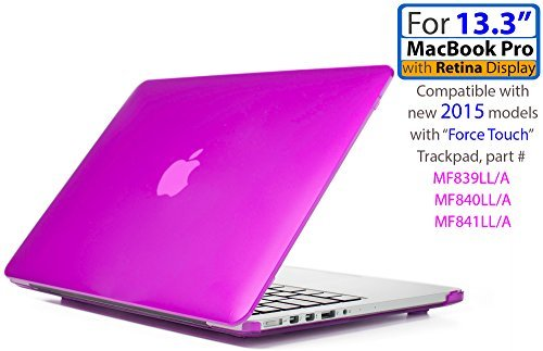 iPearl mCover Hard Shell Hülle für 13Modell A1425/A1502MacBook Pro (mit 13,3Retina Display) (Pro 13 Macbook Ipearl Mcover)