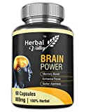 HerbalValley Brain Power 60 Capsules (Pack of 1)