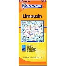 Carte routière : Creuse - Haute-Vienne, N° 11325