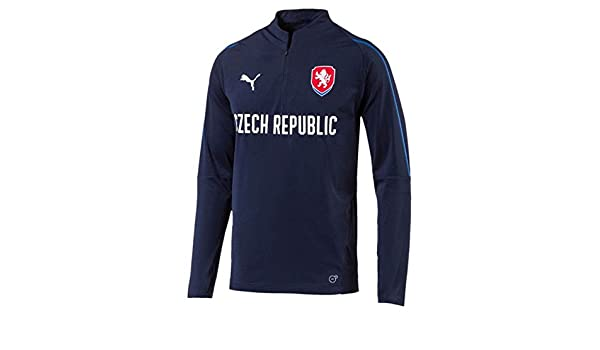 f6d1a0014 Puma 2018-2019 Czech Republic 1 4 Zip Training Top (Peacot)  Amazon.co.uk   Sports   Outdoors