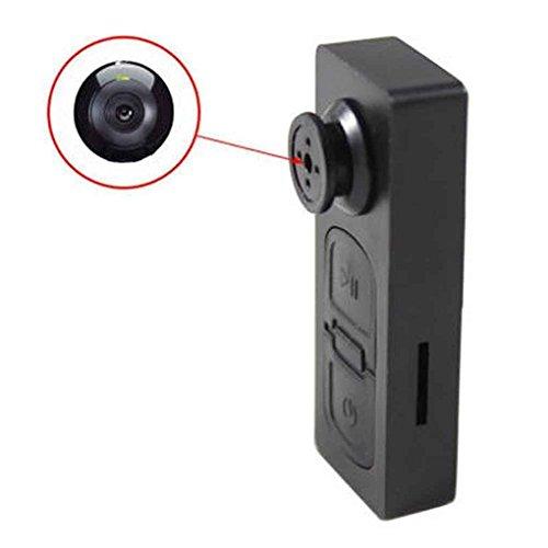 Masterein Mini 720x480 Versteckte Knopf-Überwachung DV-Kamera Video-PC DVR Voice Recorder Schwarz