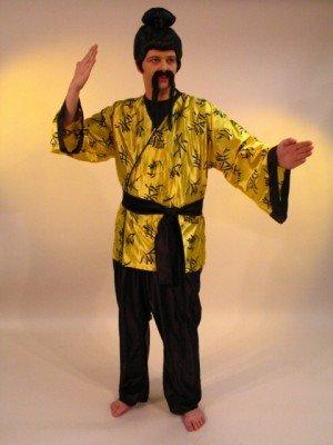 Kostüm Chinese - Chinese Kostüm Wong Li Gr. 52-54 Neu Karneval Fasching