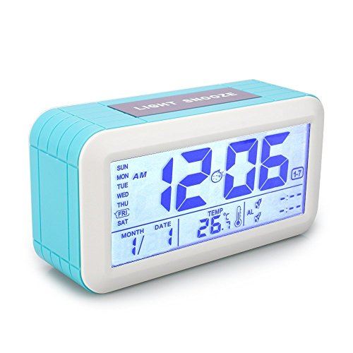VADIV Reloj Despertador Digital