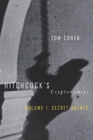 Hitchcock's Cryptonymies V1: Volume 1. Secret Agents Radio-v1