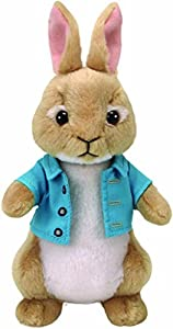Ty Peter Rabbit Peluche Cottontail, Color Verde (United Labels Ibérica 42278TY)