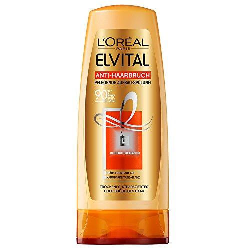 L'Oréal Paris Elvital Anti-Haarbruch Spülung, 3er Pack (3 x 200 ml)